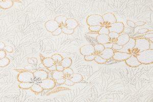 徳扇美術製 プラチナ箔本金箔使用袋帯地のサブ2画像