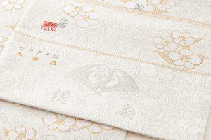 徳扇美術製 プラチナ箔本金箔使用袋帯地のサブ3画像