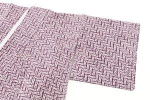 南部紫根染 綿着物のサブ1画像