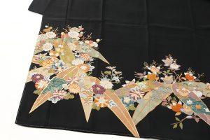 東京染繍大彦謹製 留袖「梅橘に笹」のサブ1画像