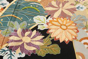 東京染繍大彦謹製 留袖「梅橘に笹」のサブ3画像