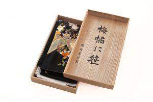 東京染繍大彦謹製 留袖「梅橘に笹」のサブ7画像