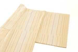 小林敬子作 経縞紬織地「萬葉」のサブ1画像