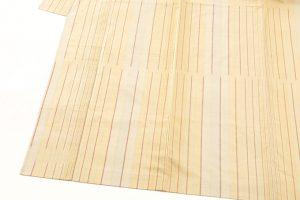 小林敬子作 経縞紬織地「萬葉」のサブ2画像