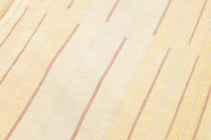 小林敬子作 経縞紬織地「萬葉」のサブ4画像