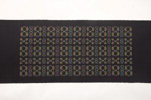 ルバース・ミヤヒラ吟子作 首里花織名古屋帯地のサブ3画像