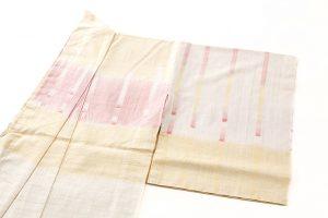 永田いすず作 草木染手織り紬地 「宴のあと」のサブ1画像