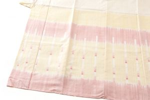永田いすず作 草木染手織り紬地 「宴のあと」のサブ2画像