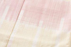永田いすず作 草木染手織り紬地 「宴のあと」のサブ4画像