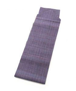 佐藤房子作 蓮香布織手織り八寸帯のメイン画像