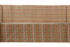 人間国宝 平良敏子作 芭蕉布花織名古屋帯のサブ3画像