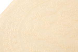 喜多川俵二作 夏名古屋帯 穀織双龍文のサブ2画像