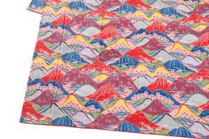 城間栄喜作 琉球本紅型振袖「春の島景文様」のサブ2画像