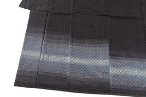 米須幸代作 首里花織紬訪問着のサブ2画像