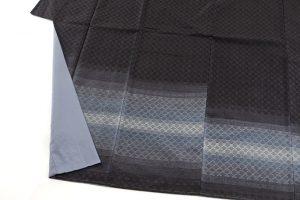 米須幸代作 首里花織紬訪問着のサブ3画像