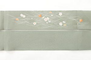ぎをん齋藤謹製 縮緬九寸名古屋帯のサブ3画像