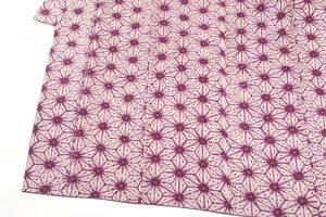 紫根染 紬着物のサブ2画像