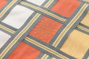 川島織物謹製 綴れ八寸名古屋帯のサブ2画像