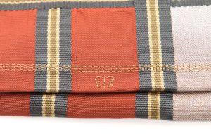 川島織物謹製 綴れ八寸名古屋帯のサブ4画像
