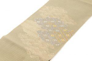 川島織物謹製 絽綴八寸名古屋帯のサブ1画像
