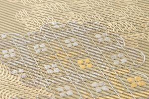川島織物謹製 絽綴八寸名古屋帯のサブ2画像