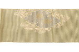 川島織物謹製 絽綴八寸名古屋帯のサブ3画像