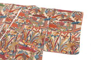 山岡古都作 草木染琉染紅型小紋のサブ1画像