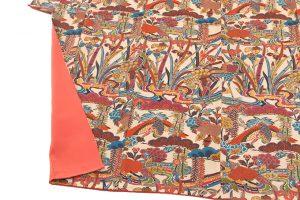 山岡古都作 草木染琉染紅型小紋のサブ3画像