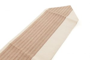 出羽の織座謹製 紙布八寸名古屋帯のサブ1画像