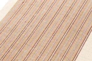 出羽の織座謹製 紙布八寸名古屋帯のサブ2画像