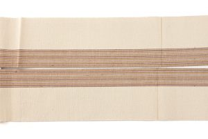 出羽の織座謹製 紙布八寸名古屋帯のサブ3画像