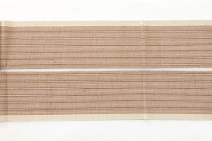 出羽の織座謹製 紙布八寸名古屋帯のサブ4画像