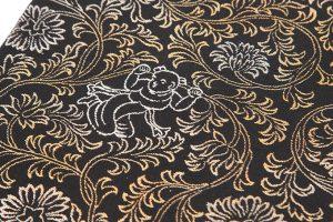 龍村平蔵製 袋帯「歌集人形唐草」のサブ3画像