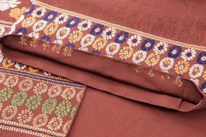 龍村平蔵謹製 袋帯「鳥いちご」のサブ4画像