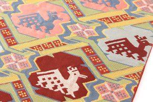 龍村平蔵製 袋帯「有栖川鹿手」のサブ2画像