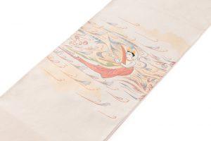 山口伊太郎 袋帯「天女奏楽圓文」のサブ1画像