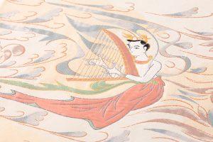 山口伊太郎 袋帯「天女奏楽圓文」のサブ2画像