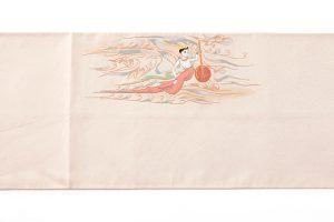 山口伊太郎 袋帯「天女奏楽圓文」のサブ3画像