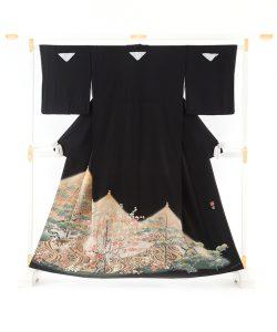 百貫華峰作 本加賀友禅留袖のメイン画像