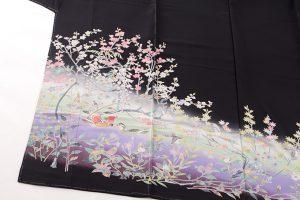 百貫華峰作 本加賀友禅留袖地のサブ1画像