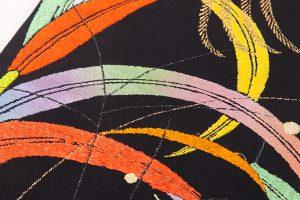 龍村平蔵製 夏袋帯「桃山芒」のサブ2画像