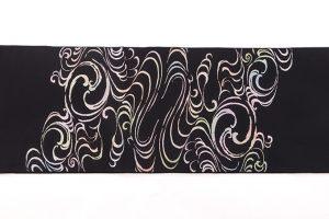龍村平蔵製 夏袋帯「桃山芒」のサブ4画像