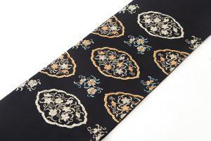 龍村平蔵製 袋帯「窠中繍花文」のサブ1画像