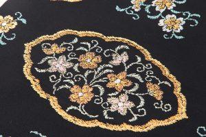 龍村平蔵製 袋帯「窠中繍花文」のサブ2画像