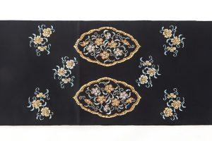 龍村平蔵製 袋帯「窠中繍花文」のサブ3画像