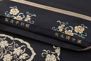 龍村平蔵製 袋帯「窠中繍花文」のサブ4画像