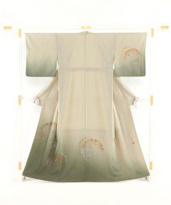福田喜重作 刺繍訪問着のメイン画像