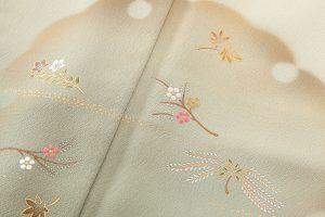 福田喜重作 刺繍訪問着のサブ3画像