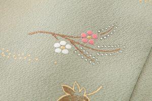 福田喜重作 刺繍訪問着のサブ4画像
