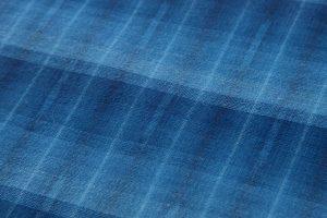 琉球美絣 綿着物のサブ4画像